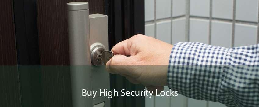 Buy High Security Locks