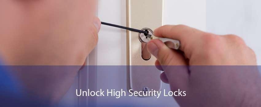 Unlock High Security Locks